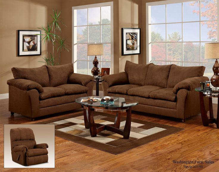Great 1150 Casual Pillow Top Three Seat Sofa By Washington Furniture At Ivan  Smith Furniture