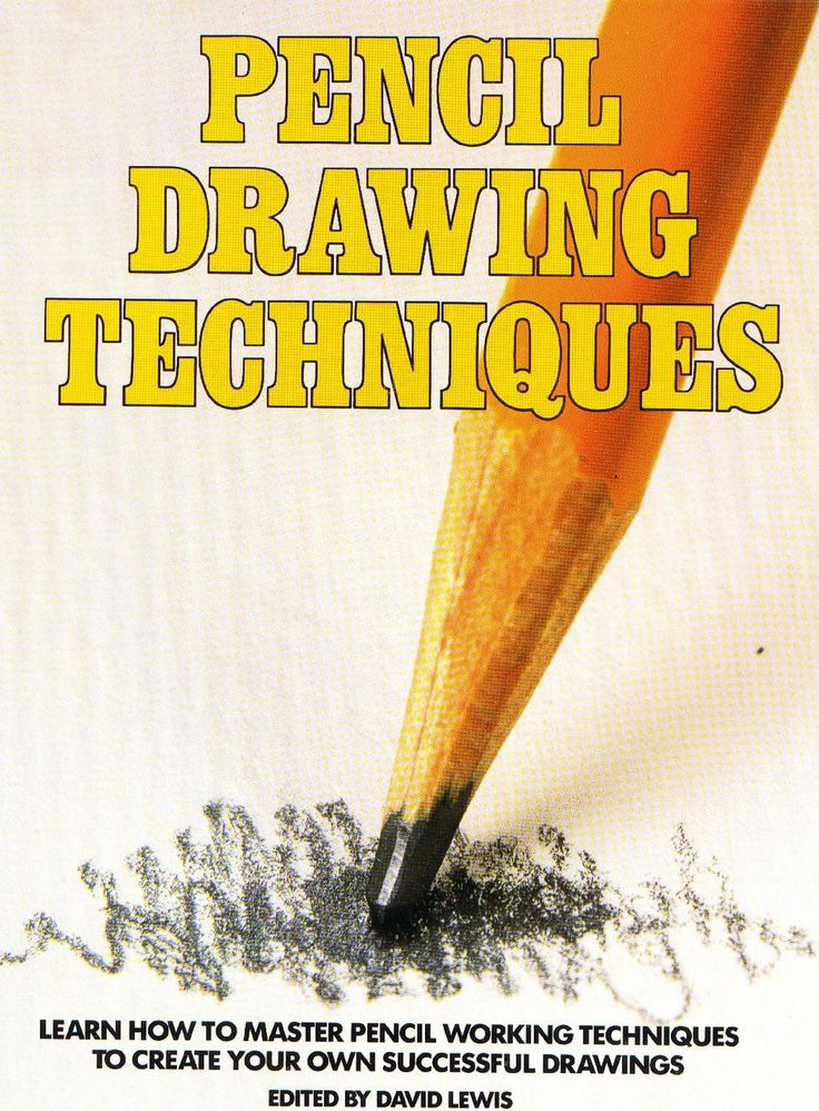 Pencil Drawing Techniques by Christian Sisson