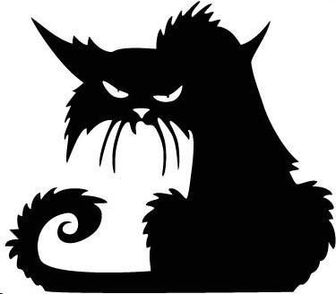 Halloween is not only about fear is about color about standing out and about being original! So get creative and place this Black Cat Halloween Window Sticker in different spots of your house: on the