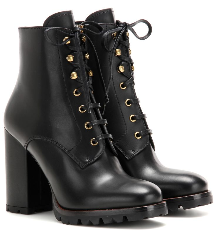 Prada Leather 110 ankle boots Black               $159.00