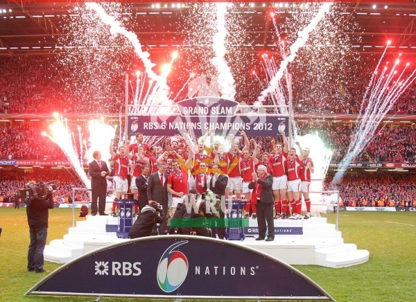 Welsh Rugby Team - Six Nations winners 2012.............