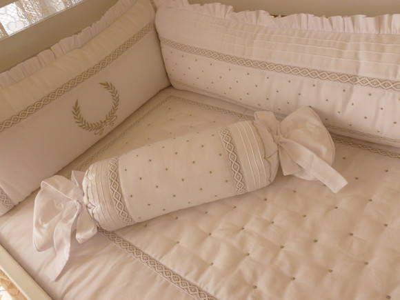 Kit Berço Menina Noblesse (6 peças) | Betsy - Decoração de quarto, kit berço e enxoval do bebê | 24F971 - Elo7
