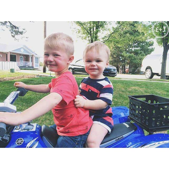 Cody and jackson cousins ellie and jared mecham for Ellie and jared