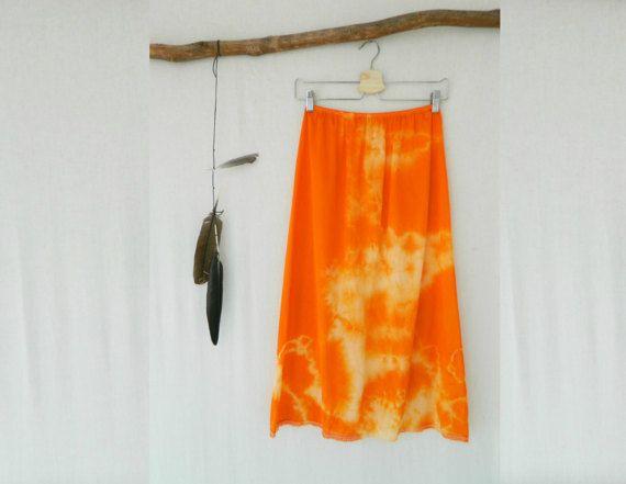 WANDERLUST . women's tie dye skirt . size 14 . by bohemianbabes