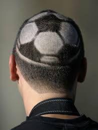 Half a soccer ball