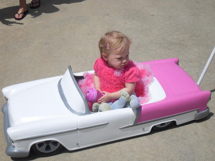 Pedal car made into a stroller...with air ride on each corner!    Custom Pedal Car Strollers/Wagons - Page 15 - THE H.A.M.B.