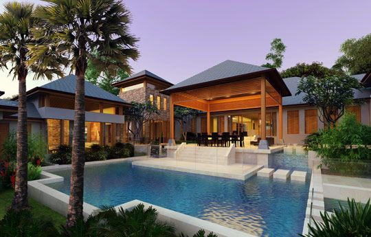 balinese luxury houses and house design on pinterest
