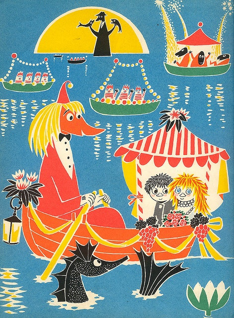 """1960. Tove Jansson """"Who Will Comfort Toffle?"""""""