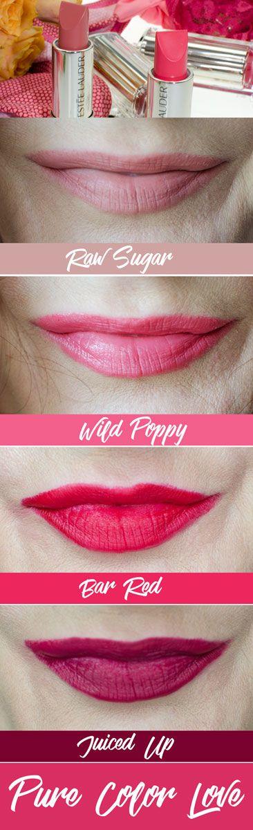 DEINE FACETTEN MIT ESTÉE LAUDER LIPSTICKS  30 tolle Farbtöne in insgesamt vier verschiedenen Finish bieten de neuen Pure Color Lipsticks von Estée Lauder*. Genug, um mehr als eine Facette an sich selbst zu entdecken! Vier der neuen Lippenstifte davon stelle ich euch heute vor. #beinhaltetwerbung