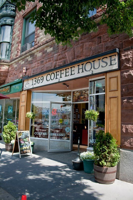 1369 Coffee House, Cambridge Massachusetts. My favorite coffee shop when I lived in Cambridge. This is the Central Square location.