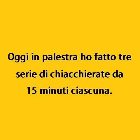 Pigrizia is the way. (By postofisso2012) #tmlplanet #palestra #ragazzi #ragazze
