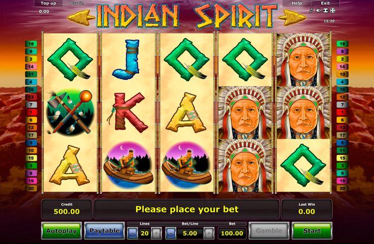 Indian Spirit - Novomatic Spiel! Total indisch und spassig! Spiele umsonst bei Onlinecasinohex.de