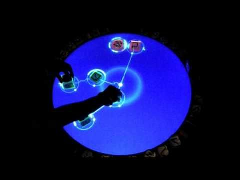 ReacTable live performance. How kewl is this?
