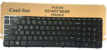 Cool-See US Laptop Keyboard with Frame for HP Pavilion 15E 15N 15T 15-N 15-E 15-E000 15-N000 15-N100 15T-E000 15T-N100 15-e087sr 708168-001 710248-001 749658-001 719853-001 9Z.N9HSQ.001 Review 2017