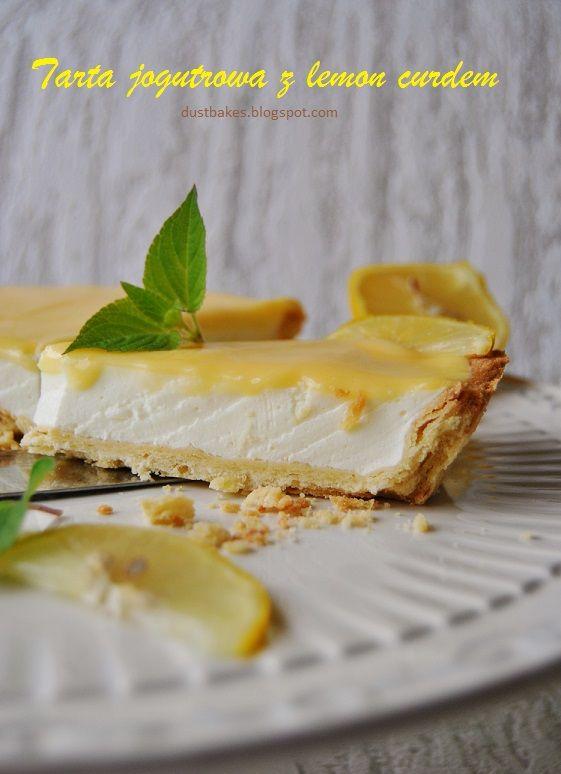 Tarta jogurtowa z lemon curdem