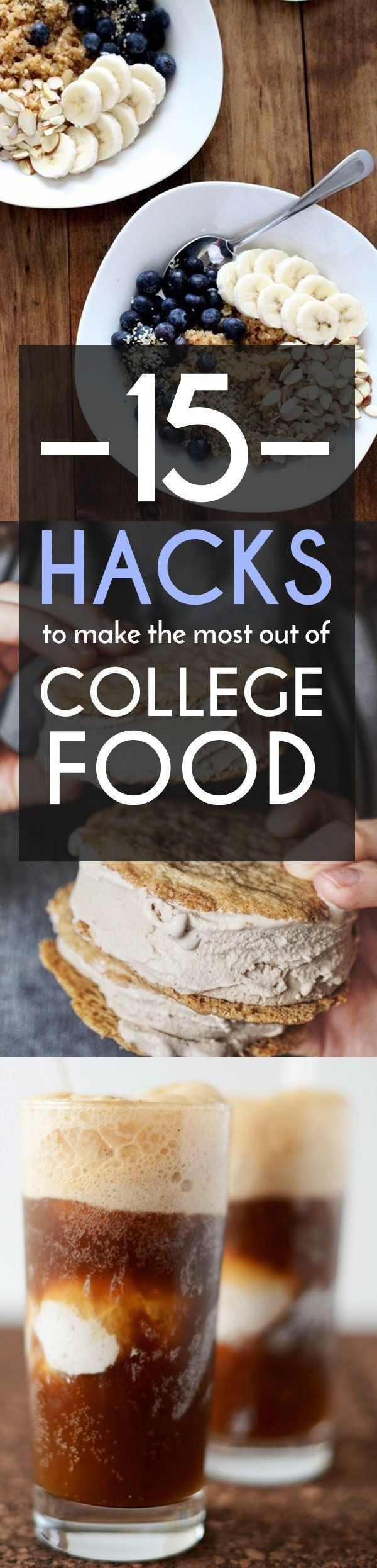 15 Hacks To Make The Most Out Of College Food