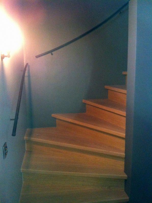 Roestvrijstalen of smeedijzeren trapleuningen online bestellen voor in huis pinterest - Leuning smeedijzeren trap ...