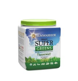 Raw Greens Magnified by Powerful Trace MineralsSunwarrior Ormus Supergreens include potent nutrition from alfalfa, barley grass, wheat grass, spinach, oat grass, parsley, moringa, and ginger. These supergreens are grown in pristine, ancient volcanic valleys. The fertile, mineral-rich volcanic soil nurtures these organic, greens, enriching them with trace minerals.A patented cold-drying
