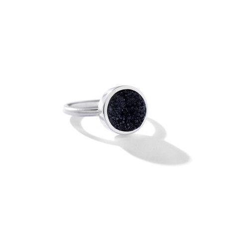 Stunning druzy agate ring by famke