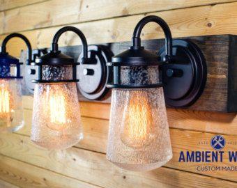 Bathroom Vanity Mason Jar Light 32 best vanity light images on pinterest | bar lighting, bathroom