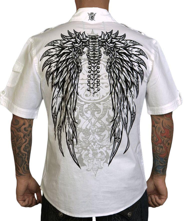 Pánská košile Rebel Spirit křídla