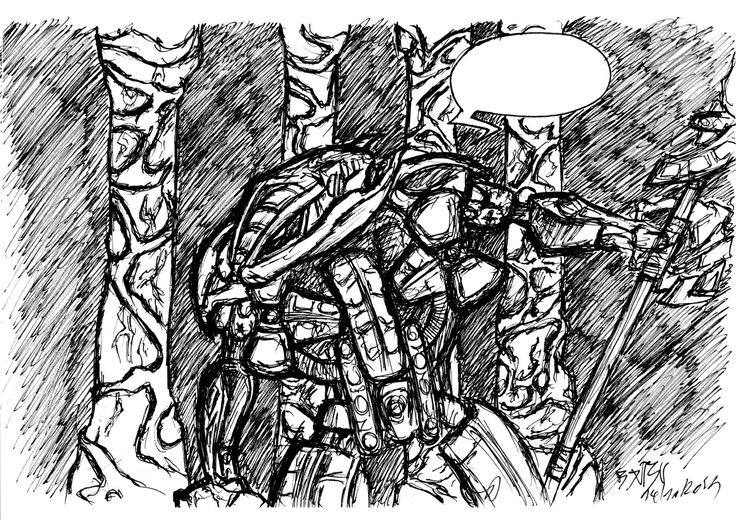 ArtStation - Bionicle_Makuta Terridax, Björn Vantoortelboom