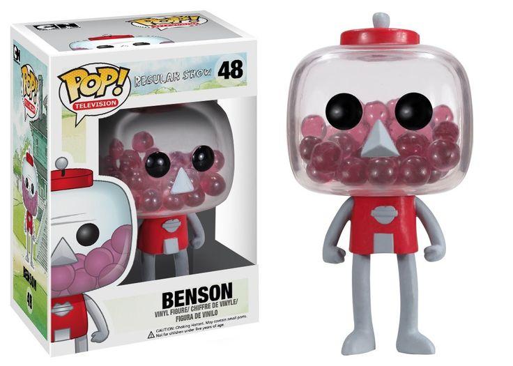 Amazon.com: Funko POP Television Benson Regular Show Vinyl Figure: Toys & Games