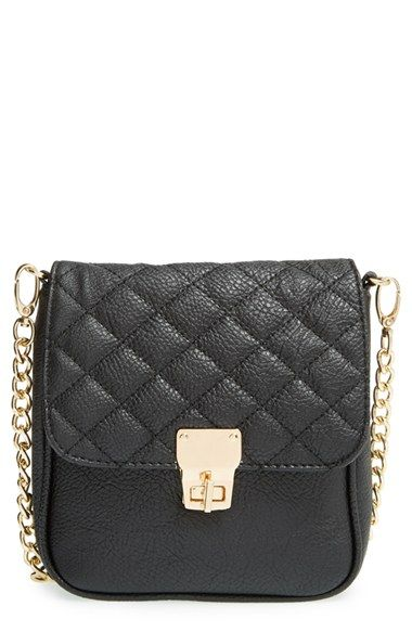 chanel inspired bags. amici+accessories+quilted+crossbody+bag+available+at+#nordstrom chanel inspired bags n