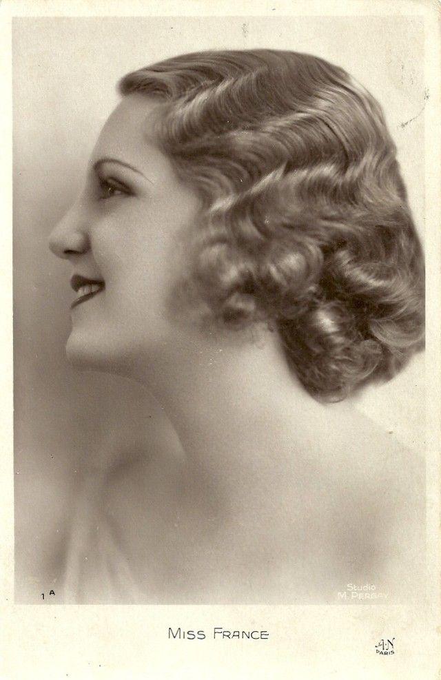 Ретрокрасавицы с конкурса «Мисс Европа — 1930» 20. Мисс Франция Ивонна Лабрус (15 февраля 1906 — 1 июля 2000).