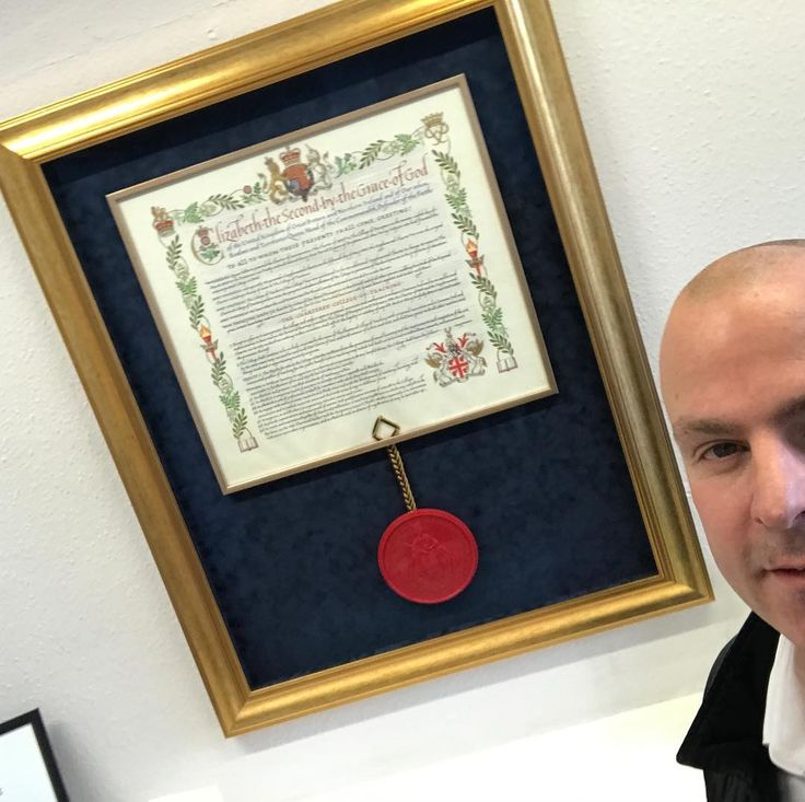 Visiting The Royal College of Teaching today; standing next to the Royal  Charter  #ukedchat #edchat #London