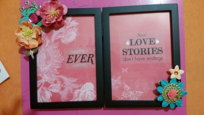 DIY Frame-$8: Frame, Stickers, Floral embellishments from Michaels (Used 40% and 50% coupons) pink paisley paper pack- Hobby Lobby clearance, foam pop dots.