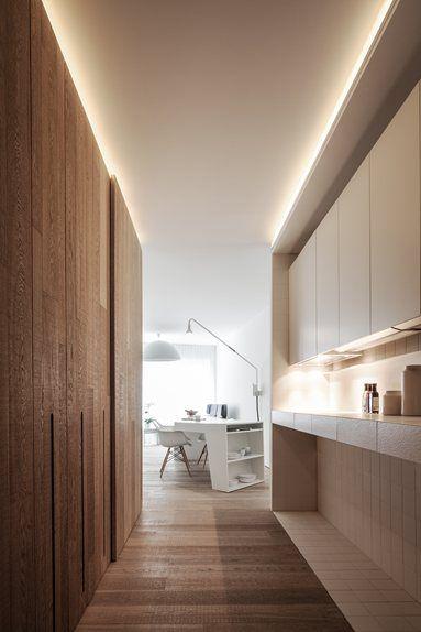 Loft MM - Bilzen, Belgium - 2012 - C.T. ARCHITECTS #living #design #white #pure