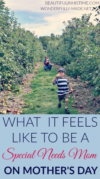 Mother's Day and Special Needs Parenting - What does it feel like to be a special needs mom on Mother's Day?