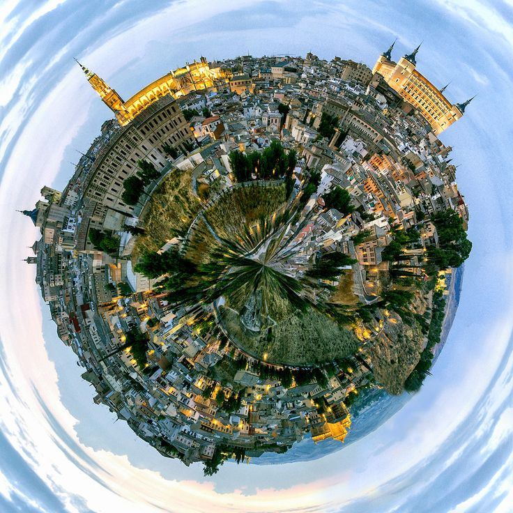 Toledo Little Planet by Pedro Jarque Krebs on 500px