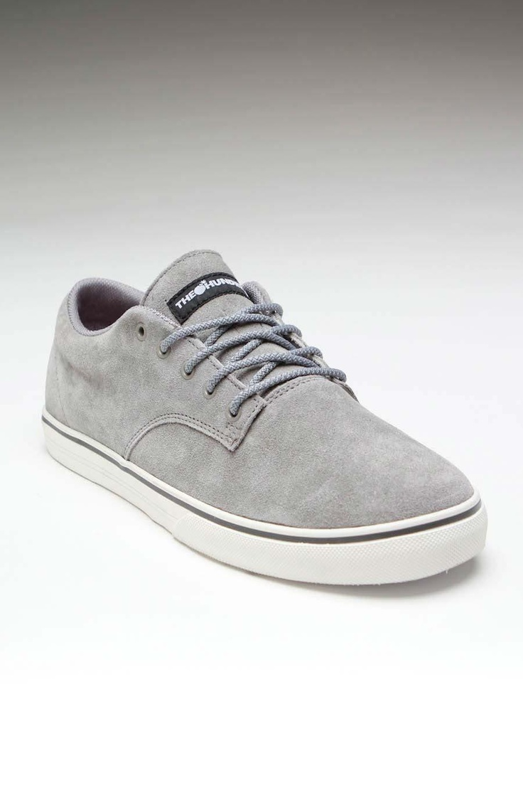 THE HUNDREDS JOHNSON LOW SUEDE SNEAKER GREY: Running Shoes, Mi Style, Boyfriends Style, Contemporary Men, Su Sneakers, Men Fashion, The Hundreds, Hundreds Johnson, Sneakers Grey
