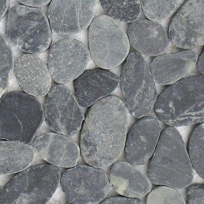 Mosaik Fliesen Dusche Bad Naturstein Kiesel Boden 11 Matten / 1qm