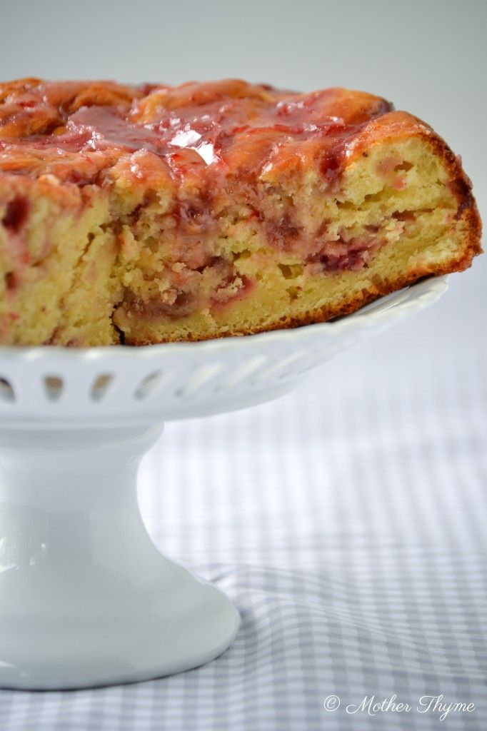 this with any fruit. Love the strawberry glaze. Bundt Cakes, Cupcakes ...