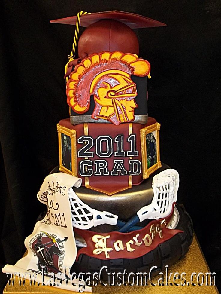 lacrosse cake - Google Search