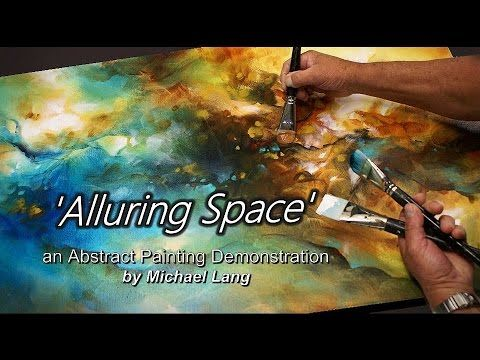 Blending & Shading an Abstract Painting using washes, Technique - https://www.youtube.com/watch?v=qSN5jM792JI