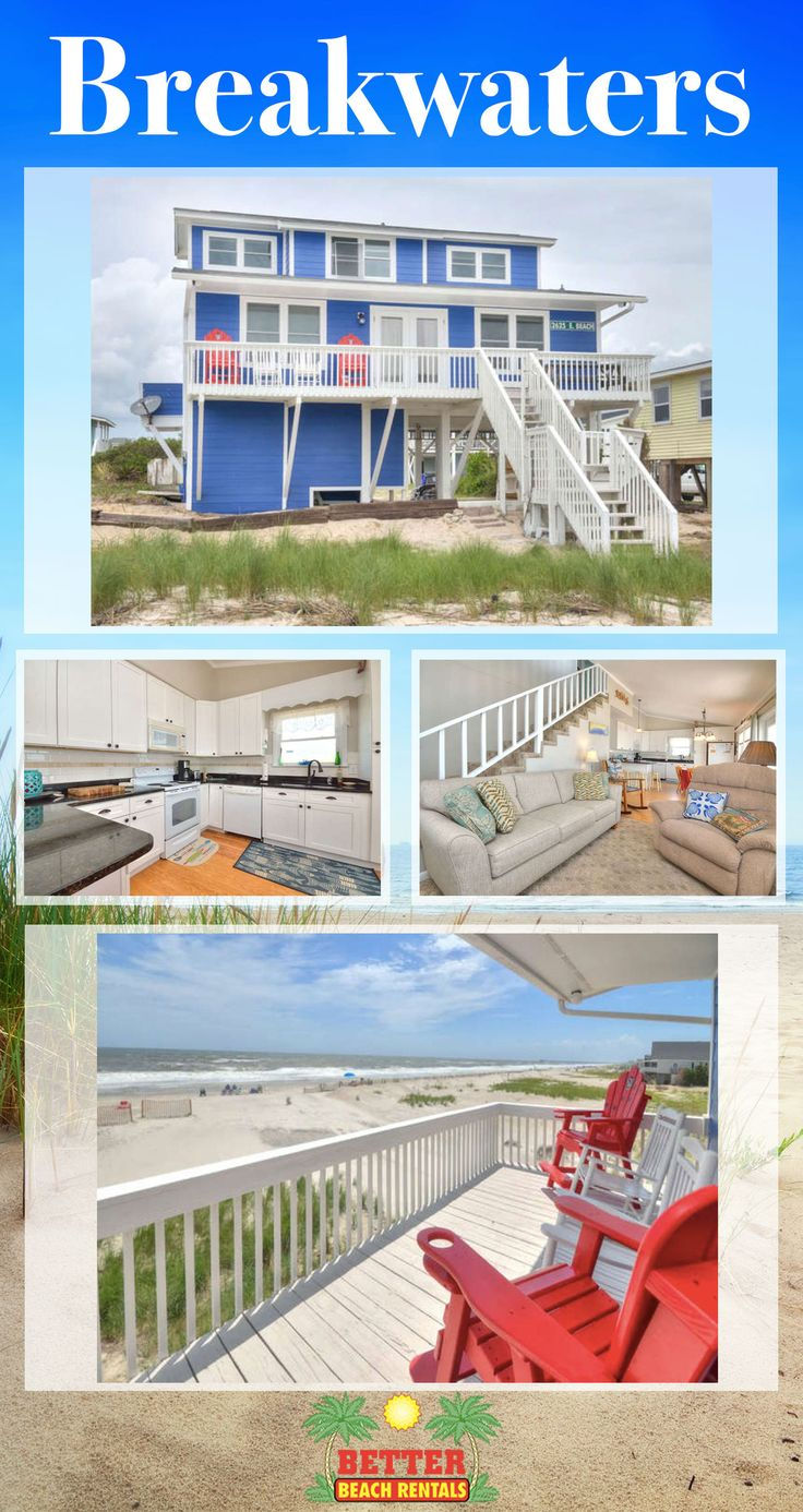 Breakwaters-Beautiful newly renovated 4 bedroom 2 bathroom oceanfront home with views that are breathtaking. This home has gone through a transformation and is ready for your family's retreat. Book now!