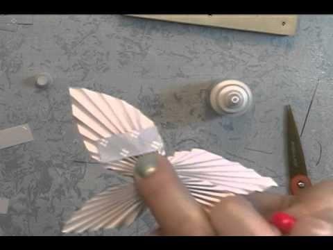 ScrapGenious How to make a Butterfly Fan- The Butterfan