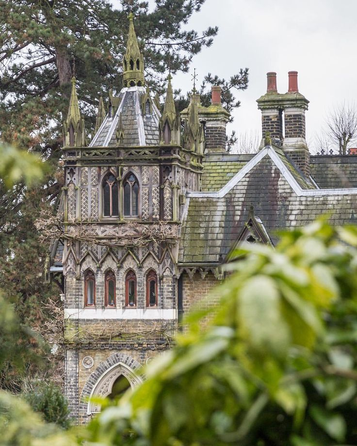 Holly Village in London's Highgate has all the ingredients for a fairytale.