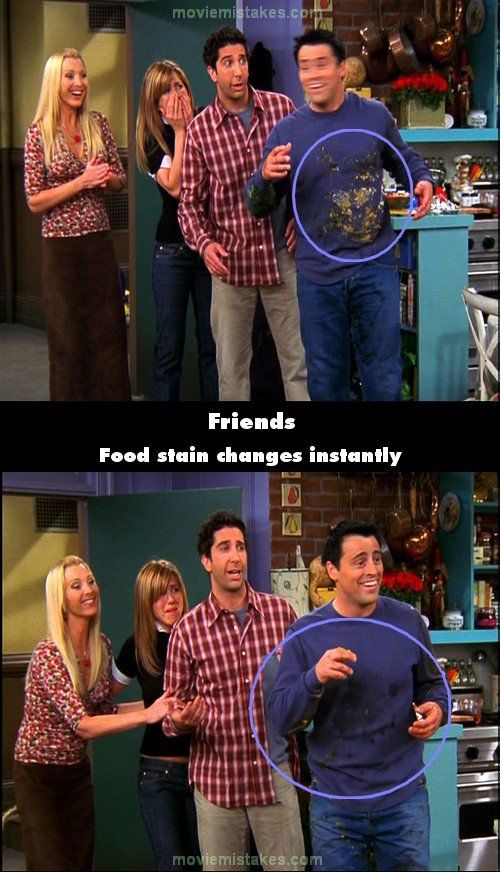 The 20 biggest Friends mistake pictures