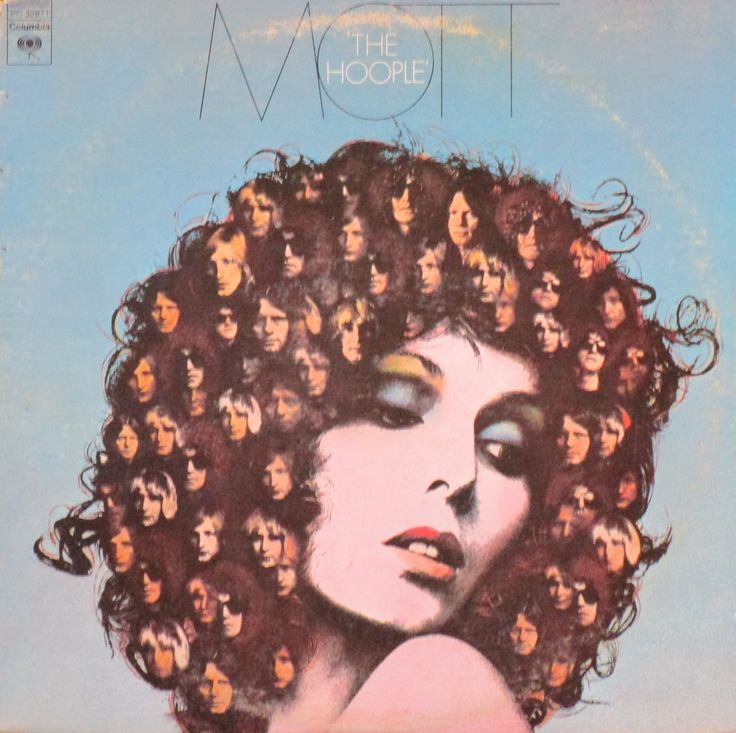 Album title: The Hoople Artist: Mott the Hoople. Lydsey de Paul: Cover Model. Year released: 1974  About the album and its cover: The Hoople is a 1974 album by British band Mott the Hoople. Its highest chart rating in the US was No. 28. A remastered and expanded version was released by Sony BMG on the Columbia Legacy label in Europe in 2006. It is the first album to feature Ariel Bender on guitar, replacing Mick Ralphs who left to form Bad Company.  The album's cover feat...