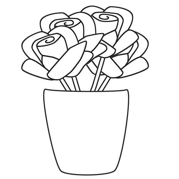 Blomster Vaser Printbare Tegninger 16 Malvorlagen Blumen Wenn Du Mal Buch Kinderfarben