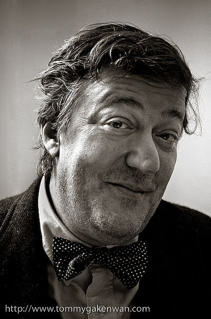 Stephen Fry - English actor, screenwriter, author, playwright, journalist, poet, comedian, television presenter, film director