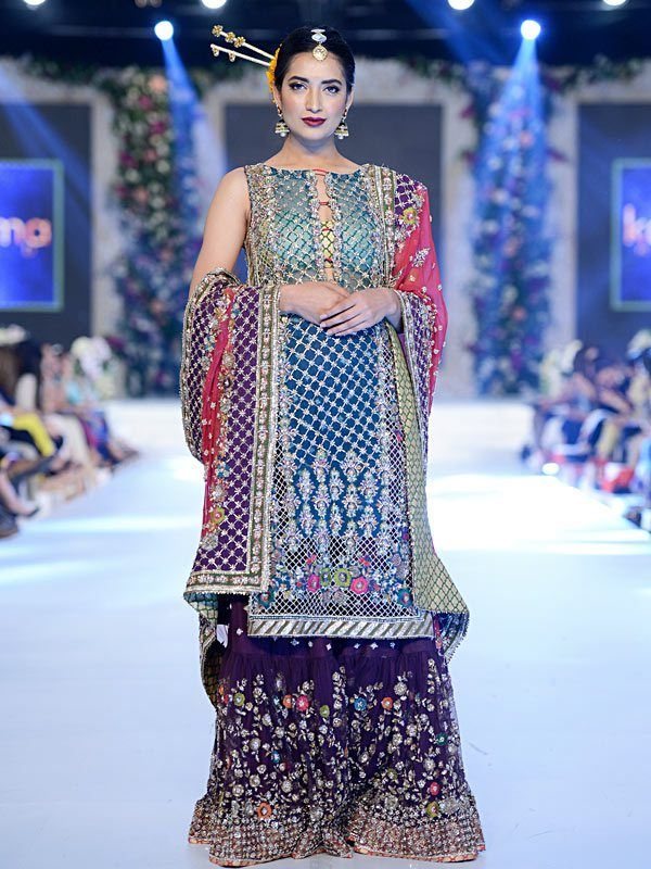 Stunning creation by Karma seen at PFDC L'Oréal Paris Bridal Week 2015 #PFDC2015 #Frugal2Fab