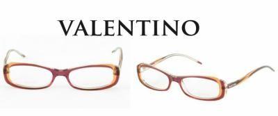 Oprawki do okularów VALENTINO  Kategoria:Oprawki Kolor(y):czerwony - pomarańczowy Skład: Acetat Szczegóły:logo marki Pudełko, Ściereczka do czyszczenia Wymiary: 53*18*135 Oprawki prosto z Włoch