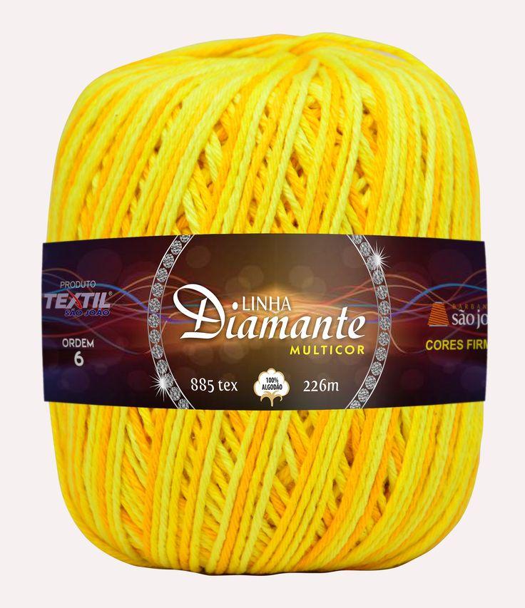 Nova linha Diamante Multicor cor 14.
