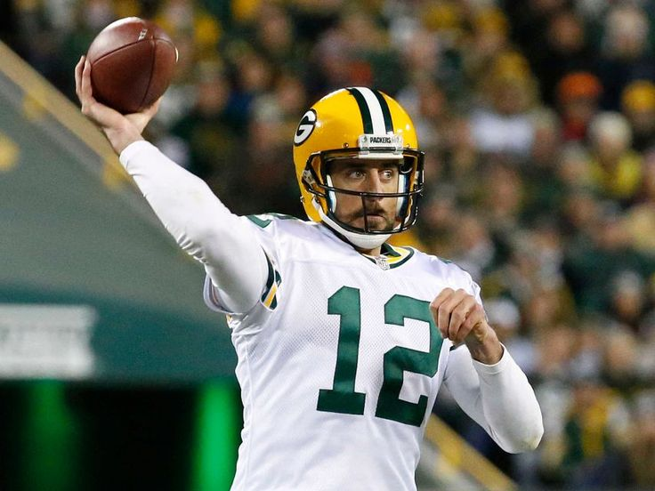 Thursday Night Football: Bears vs. Packers  -  October 20, 2016  -  26-10, Packers  - Green Bay Packers quarterback Aaron Rodgers (12) throws a pass during the first half of an NFL football game against the Chicago Bears, Thursday, Oct. 20, 2016, in Green Bay, Wis.